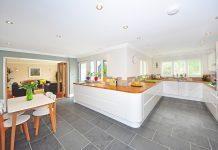 עיצוב רצפת המטבח